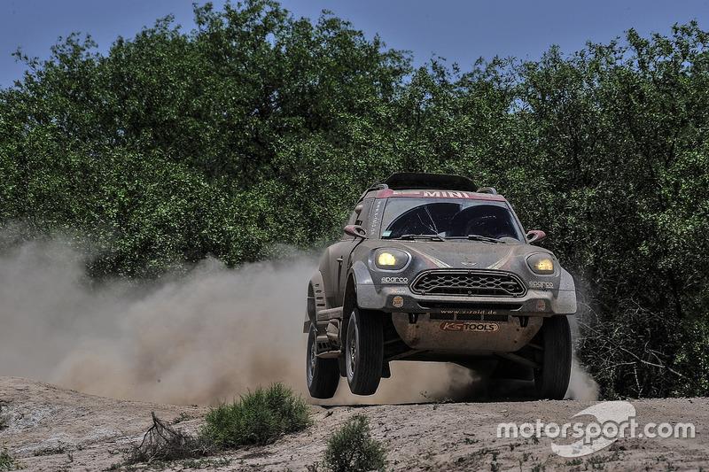 #306 X-Raid Team, Mini: Yazeed Al-Rajhi, Timo Gottschalk