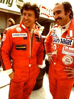 Clay Regazzoni e Mario Andretti