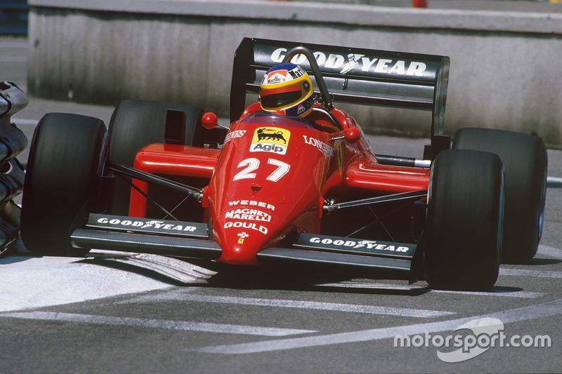 1985: Michele Alboreto, Ferrari 156/85