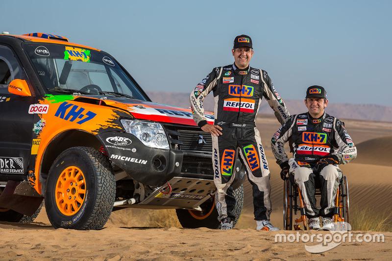 Isidre Esteve, Txema Villalobos, KH-7 Rally Team