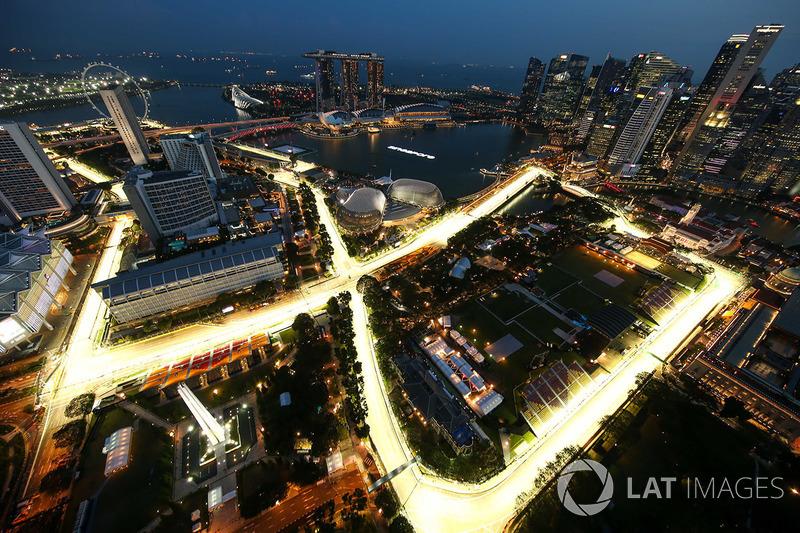 Vista aérea desde el piso 66 del Swissotel