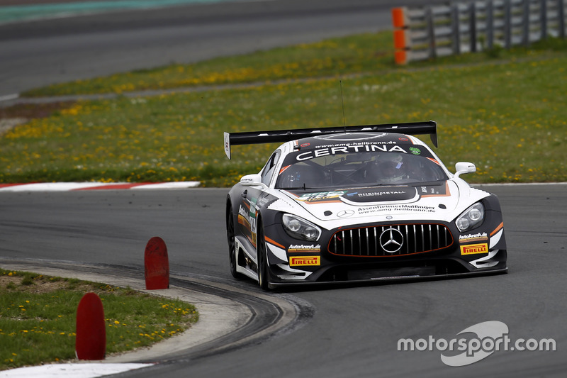 #84 Mercedes-AMG Team HTP Motorsport, Mercedes-AMG GT3