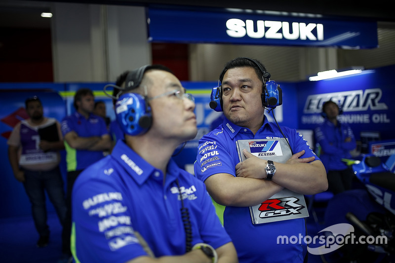 Ken Kawauchi, Team Suzuki MotoGP Technical Manager