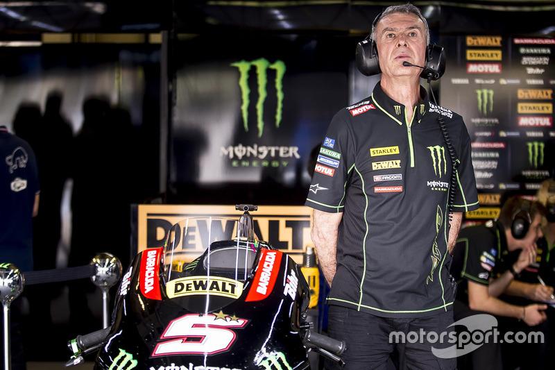 Monster Yamaha Tech 3 garage