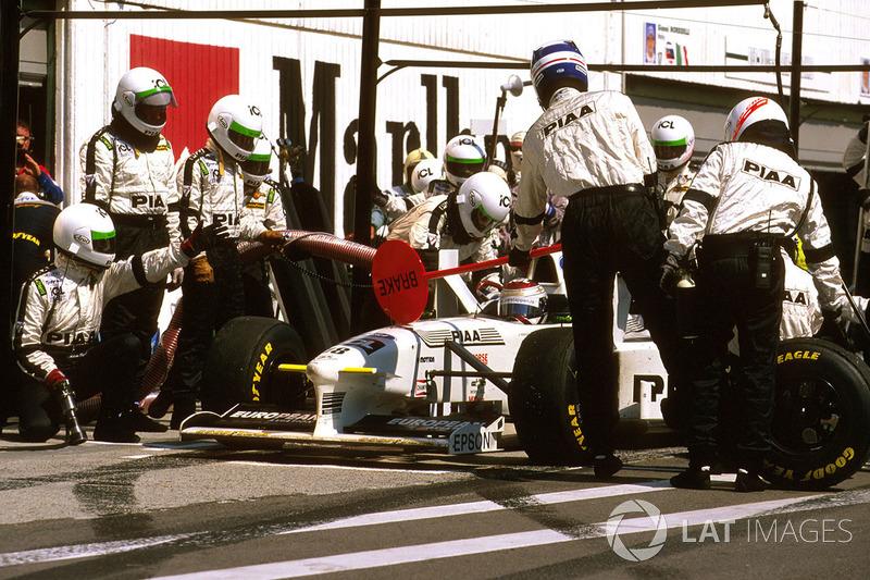 Йос Ферстаппен, Tyrrell 025 Ford