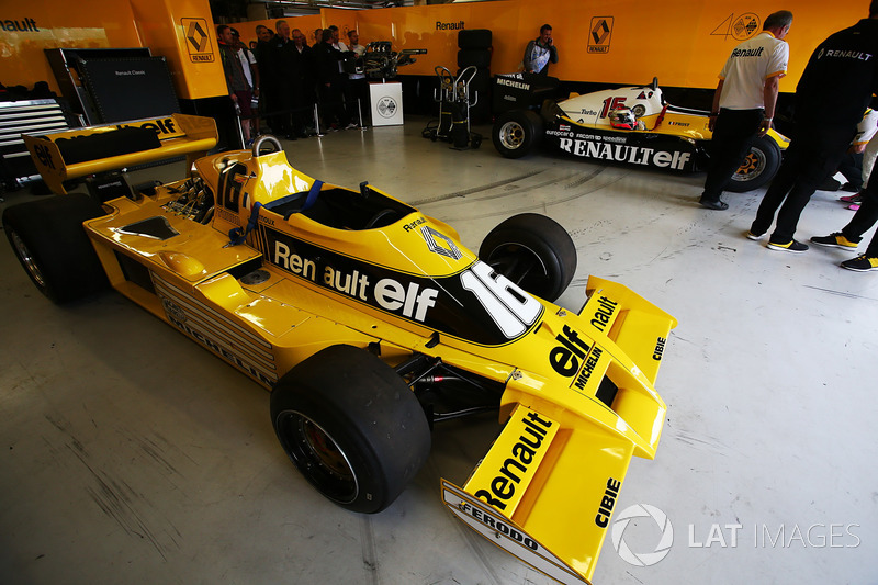 Renault Sport F1 Team F1 Historic, Рене Арну