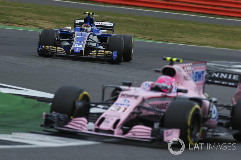 Естебан Окон, Sahara Force India F1 VJM10, Паскаль Верляйн, Sauber C36