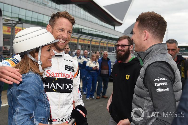 Наталі Пінем, Sky TV, Дженсон Баттон, Стоффель Вандорн, McLaren