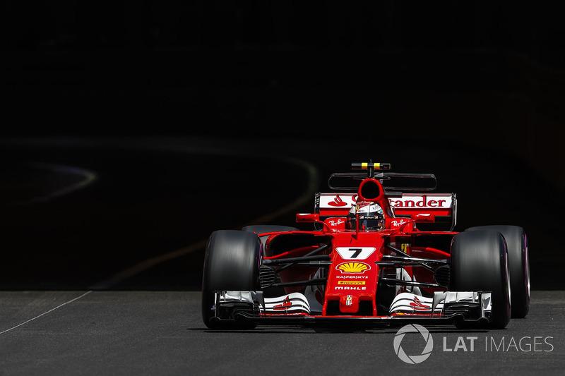 2 місце — Кімі Райкконен, Ferrari. Умовний бал — 58,135