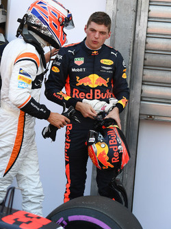 Jenson Button, McLaren, Max Verstappen, Red Bull Racing