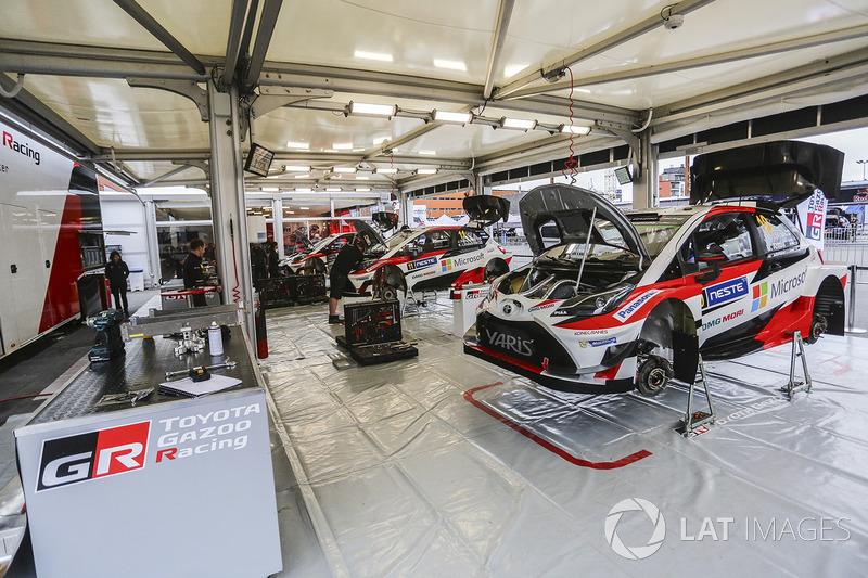 Сервіс команди Toyota Racing