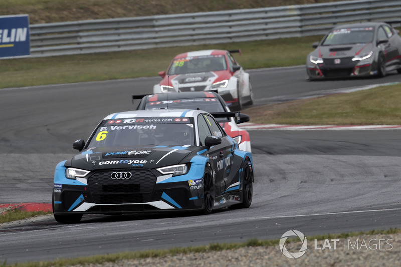 Фредерік Фервіш, Comtoyou Racing, Audi RS3 LMS