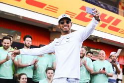 Ganador, Lewis Hamilton, Mercedes AMG F9