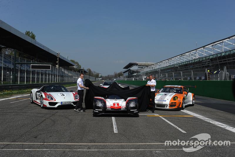 Andreas Seidl, Porsche Team, Teamchef; Fritz Enzinger, Porsche Team, LMP1-Leiter