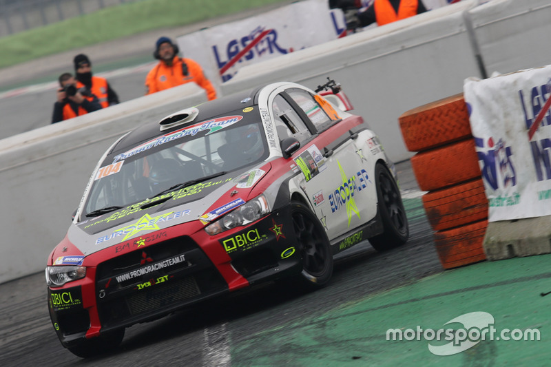 Ivan Brignoli, Paolo Brignoli, Mitsubishi Lancer