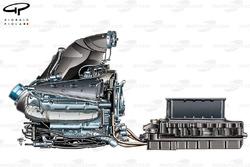 Двигатель Mercedes PU106 и батарея