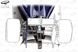 DUPLICATE: Williams FW36 lower support wing