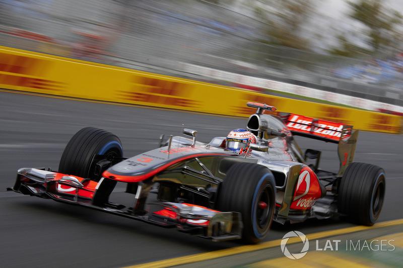 2012年オーストラリアGP:ジェンソン・バトン(マクラーレン・メルセデスMP4-27)