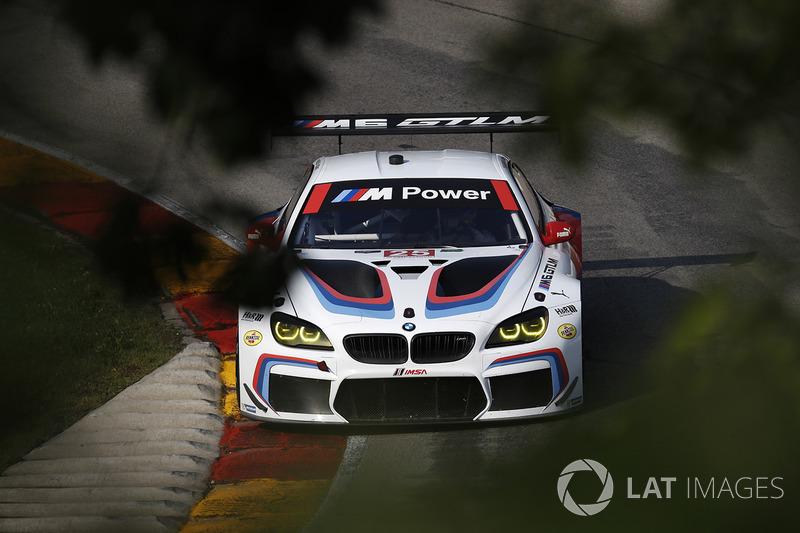 #25 BMW Team RLL BMW M6 GTLM: Білл Оберлен, Александр Сімс