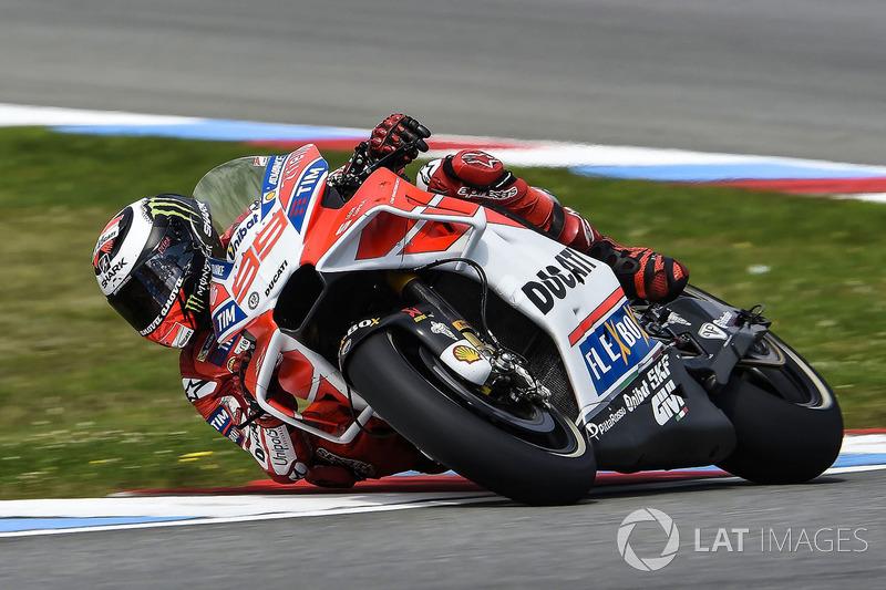 Хорхе Лоренсо Ducati Team, мотоцикл із новим обтічником