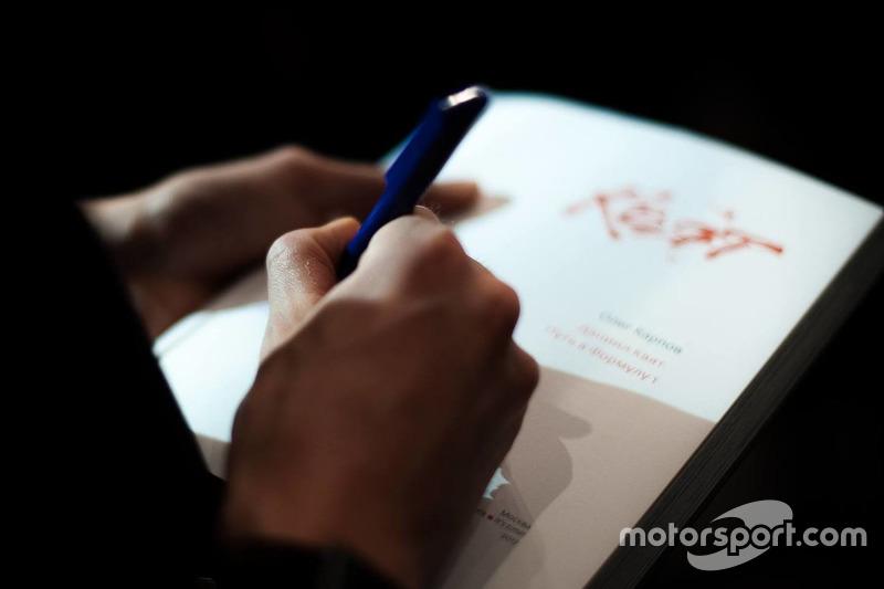 Книга «Даниил Квят. Путь в Формулу 1»