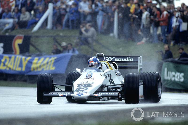 1983 год: Джонатан Палмер, Williams FW08C Ford Cosworth