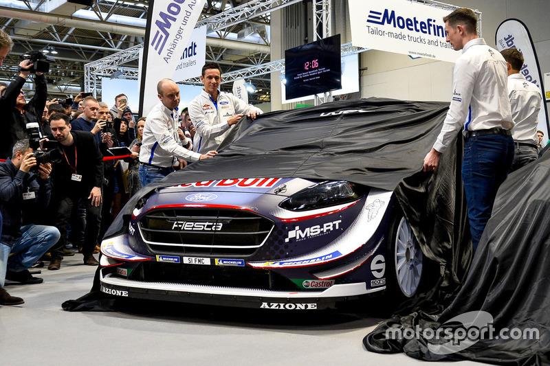 Презентация Ford Fiesta WRC