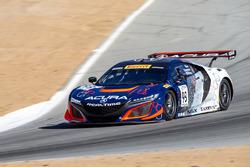#93 RealTime Racing Acura NSX GT3: Peter Kox, Mark Wilkins, Jules Gounon