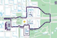Il layout del tracciato dell'ePrix di Roma