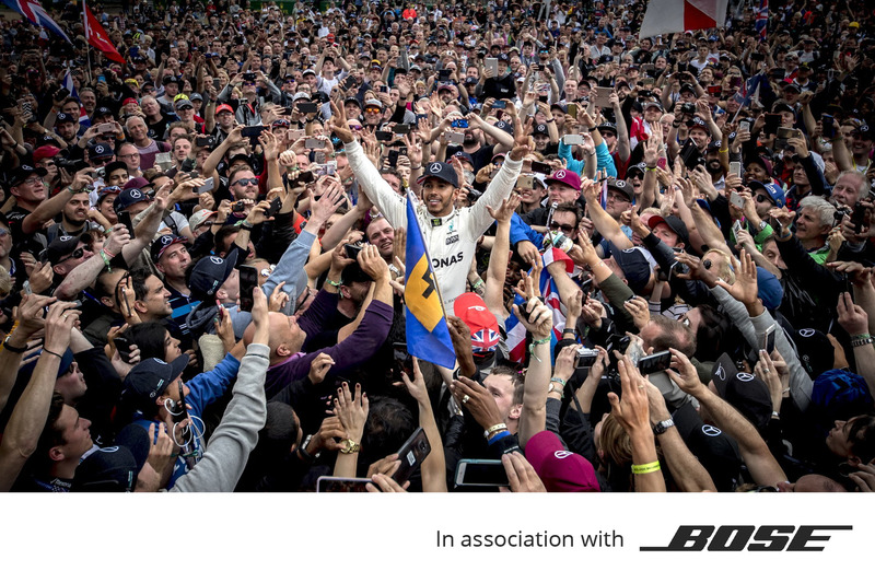 Bose, Lewis Hamilton au GP de Grande-Bretagne 2017