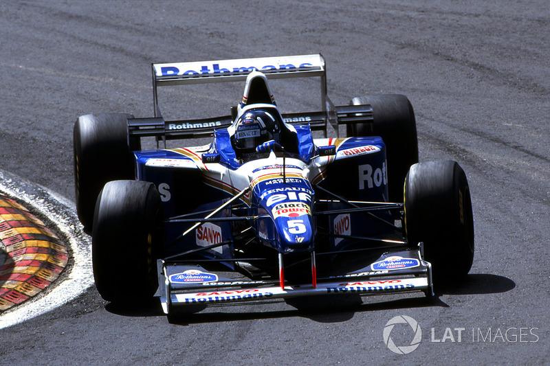 7 Williams FW18 - 1996
