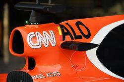 McLaren MCL32 airbox
