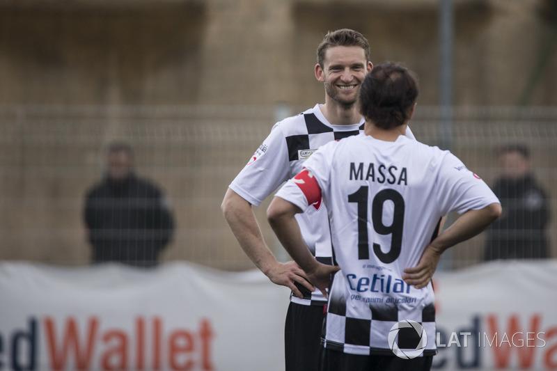 Maro Engel, és Felipe Massa