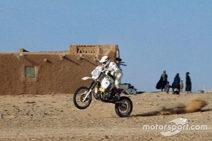 Gaston Rahier, BMW, 2 Dakar