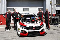 #99 RKC/TGM Motorsport Honda Civic TCR: Ricky Coomber, Thomas Gannon, David Drinkwater, Umair Khan, James Kaye