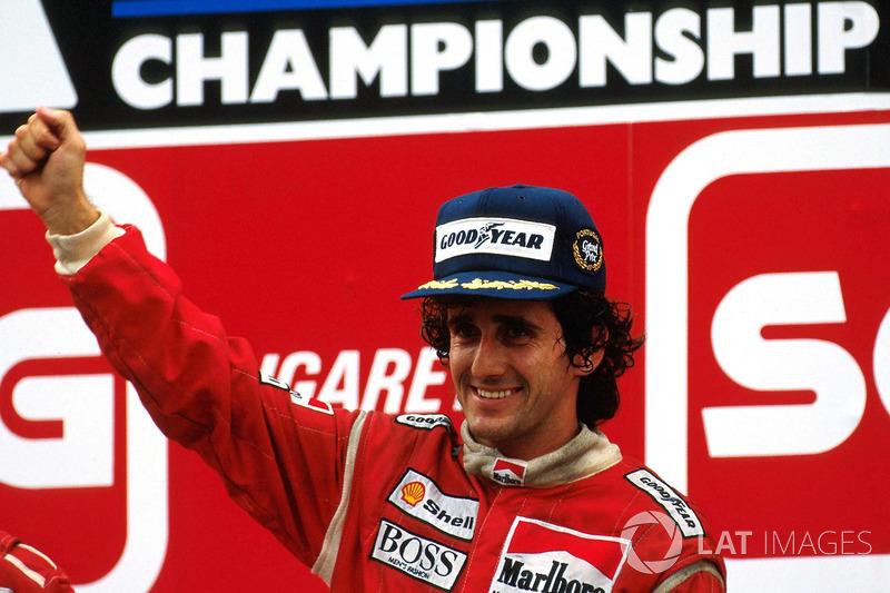 3º Alain Prost (51 victorias)