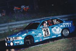 #28 Scheid Motorsport BMW M3 E36: Johannes Scheid, Sabine Reck, Hans-Jürgen Tiemann, Peter Zakowski