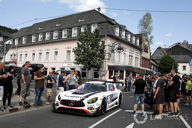 #16 Landgraf Motorsport Mercedes-AMG GT3: Kenneth Heyer, Sebastian Asch, Edward Sandström, Tristan Vautier