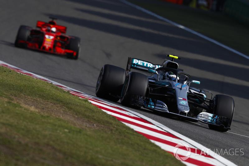 Tweede plaats: Valtteri Bottas, Mercedes AMG F1 W09