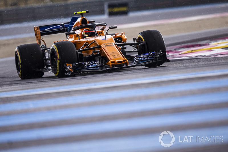 12 місце — Стоффель Вандорн, McLaren. Умовний бал — 6,64