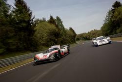 Timo Bernhard, Porsche 919 Hybrid Evo, Hans-Joachim Stuck, Porsche 956 C