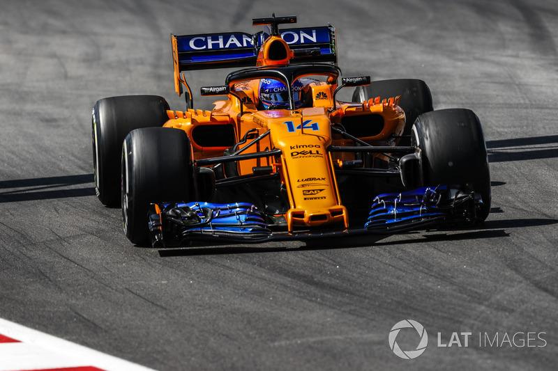 8: Fernando Alonso, McLaren MCL33, 1'17.721