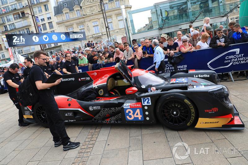 #34 Jackie Chan DC Racing Ligier JSP217 Gibson: Ricky Taylor, Côme Ledogar, David Heinemeier-Hansson