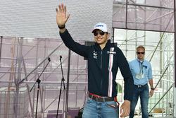 Esteban Ocon, Force India F1 imza seansında