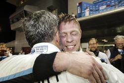 World champion Thed Björk, Polestar Cyan Racing, Volvo S60 Polestar TC1 with Yvan Muller, Polestar C