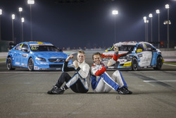 Thed Björk, Polestar Cyan Racing, Volvo S60 Polestar TC1, Tom Chilton, Sébastien Loeb Racing, Citroë
