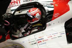 #8 Toyota Gazoo Racing Toyota TS050 Hybrid: Kazuki Nakajima