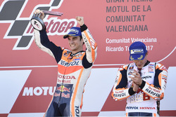 Podium : le vainqueur Dani Pedrosa, Repsol Honda Team