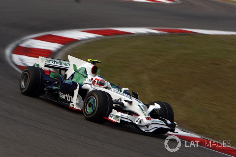Рубенс Баррикелло, Honda (11 очков, один подиум)