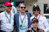 Jo Ramirez, Adrian Fernandez, Emerson Fittipaldi